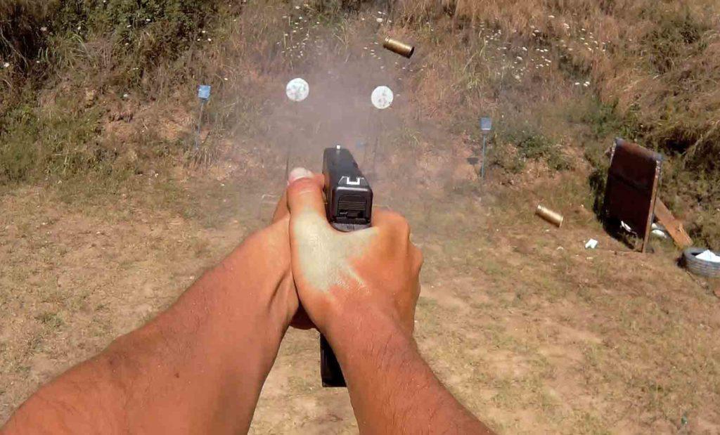 Prueba pistola Glock 17 Fs cuarta generación por Espacio Armas