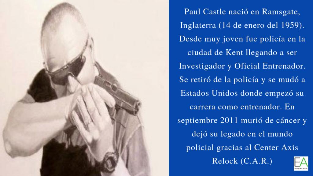 Biografía de Paul Castle (1959-2011) - Por Redacción Espacio Armas