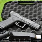 La pistola austriaca Glock 17 FS, cuarta generación