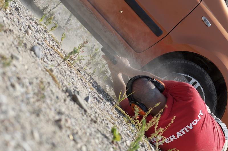 Tansella en la prueba de la CZ P10 - Por Tiro Operativo (Italia)