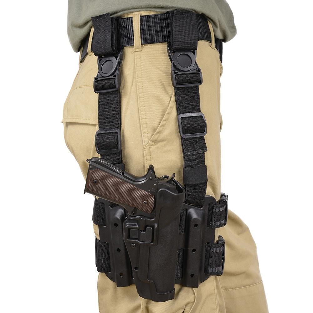 Funda al muslo Blackhawk Serpa Tactical nivel 2 - Por Redacción Espacio Armas