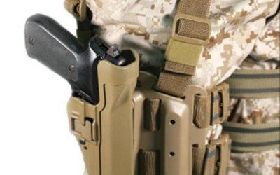 Funda táctica pistola Blackhawk Serpa (Tactical) nivel 2