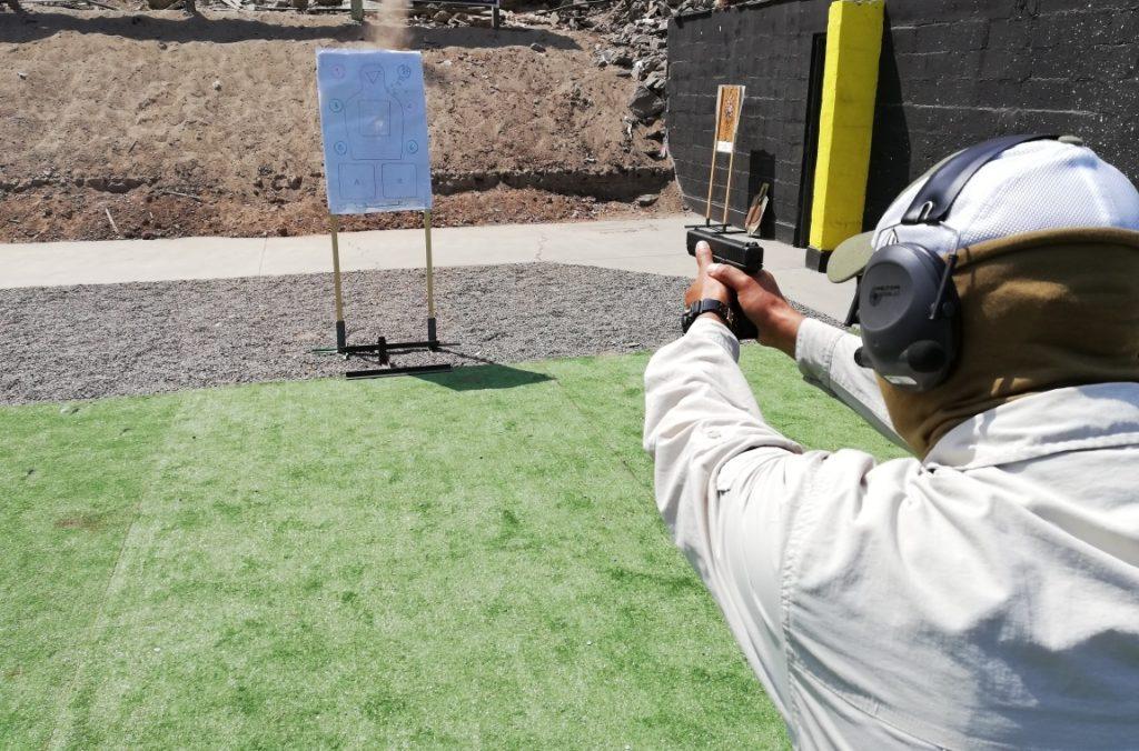 Curso Pistola defensiva en Perú, Defensive Pistol