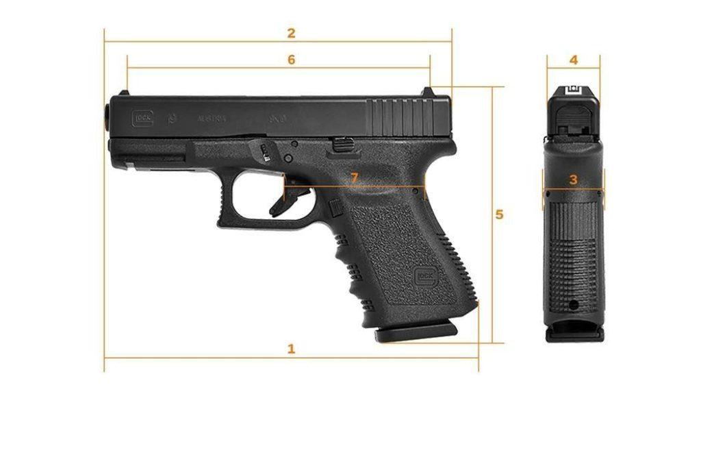 Pistola Glock 19 tercera generación, reseña y consejos. La Glock 19. Características de la pistola - Por Redacción Espacio Armas