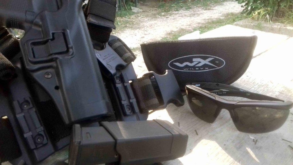Lentes Wiley X Guard Advanced - Utilizo durante sesión de tiro por Redacción Espacio Armas