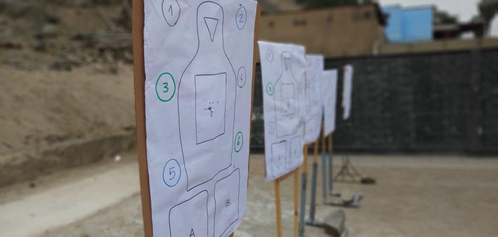 Polígono de tiro, curso Defense Pistol (Perú) gracias a Tac-Zone - Por Redacción Espacio Armas