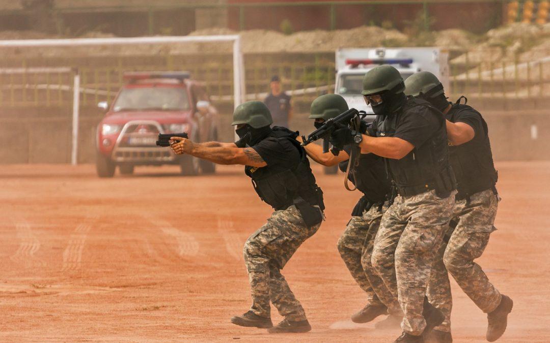 Posición SUL y combate en ambiente reducido (CQB)