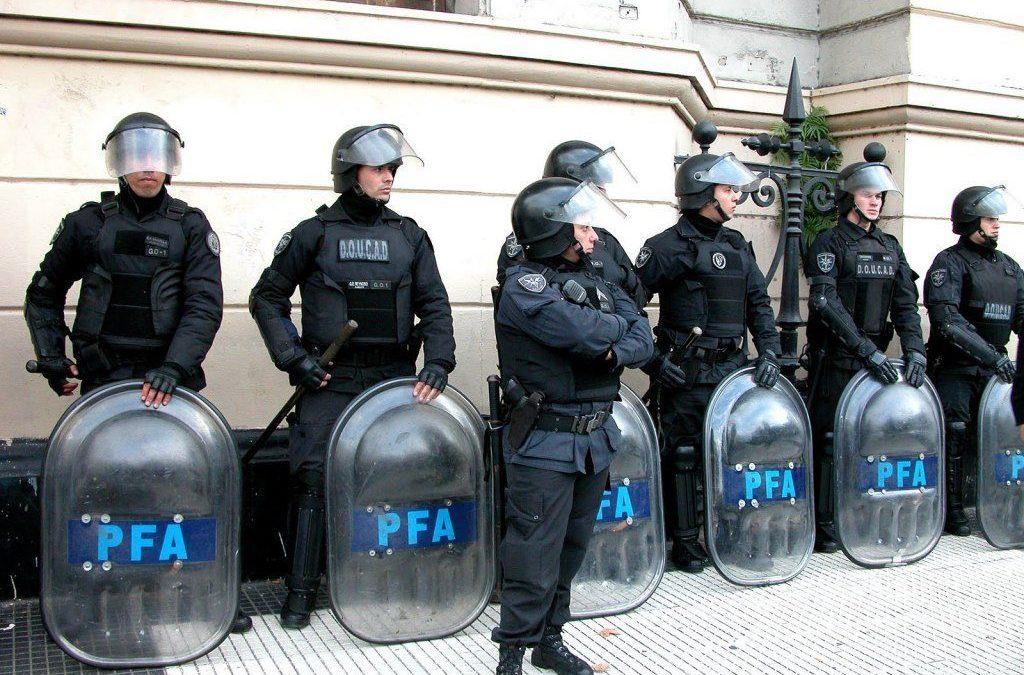 16 octubre 2018, Argentina refuerza el presupuesto de seguridad