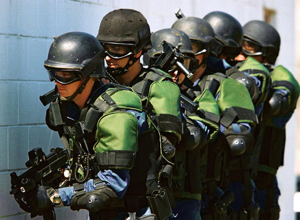 Posición tiro SUL en combate ambiente reducido (CQB)