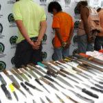 COLOMBIA, GUERRA A LAS ARMAS BLANCAS