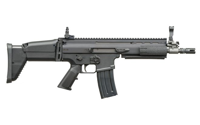 FN Scar - L CQC. Redacción Espacio Armas.