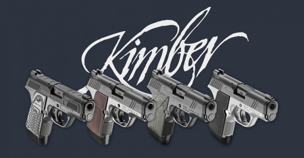 Kimber Evo en 4 modelos diferentes. Por Redacción Espacio Armas.