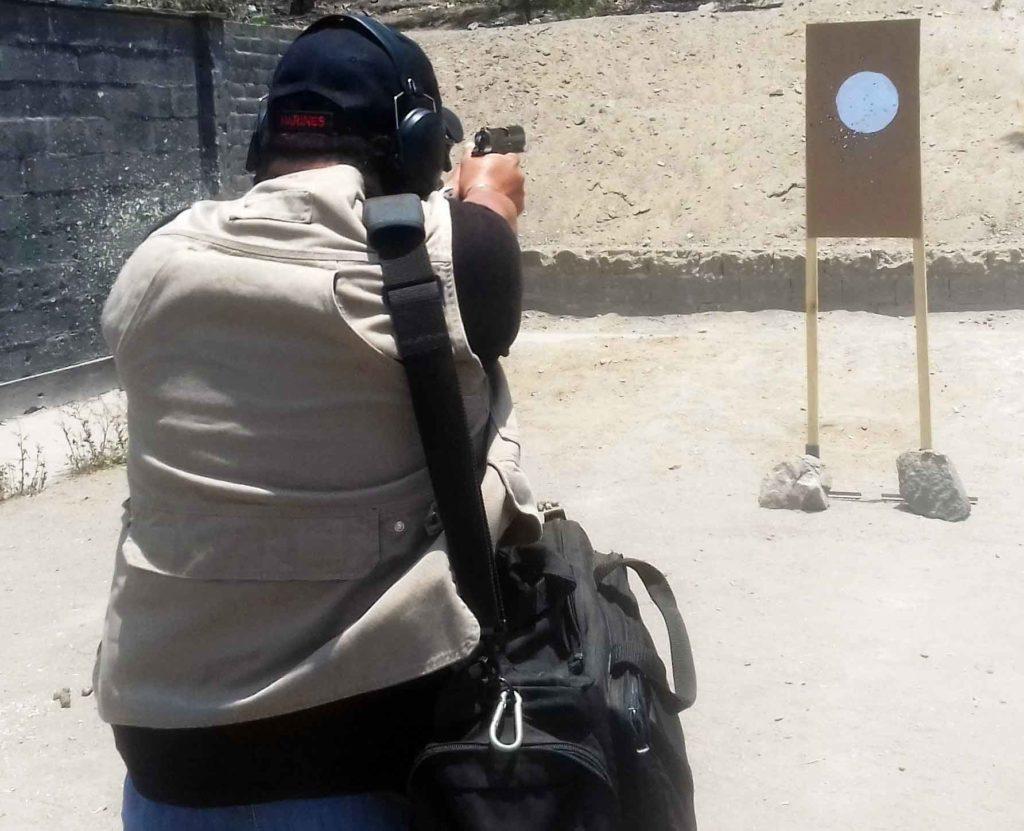 Curso Porte Oculto para entrenar con armamento, accesorios y vestimenta. Gracias a Tac-Zone Perú - Por Redacción Espacio Armas