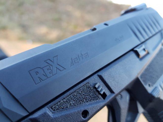 Pistola Arex modelo Rex Delta 9 mm - Por Redacción Espacio Armas