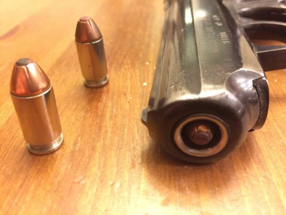 """Petardo o """"Squib Load"""" cañón de pistola. Redacción Espacio Armas"""