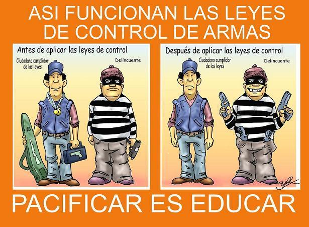 Delincuencia y desarme civil, error o mala leche. Por Dardo López.