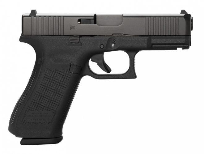Pistola Glock 45, detalles lado derecho. Redacción Espacio Armas.