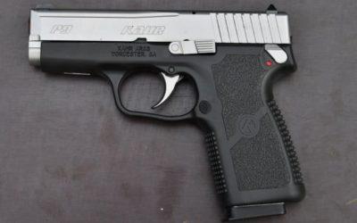 Porte oculto, pistola Kahr Arms P9 Duotone
