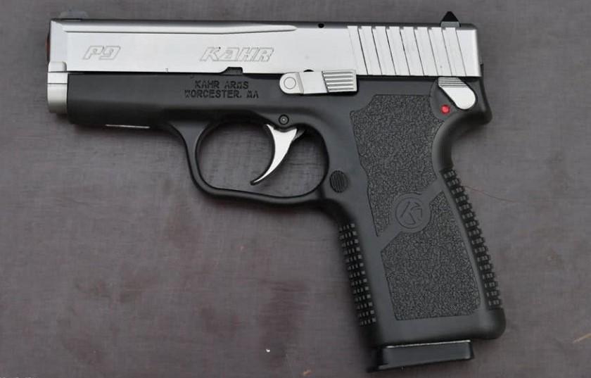 PistolaKhar P9 Duotone. Redacción Espacio Armas.