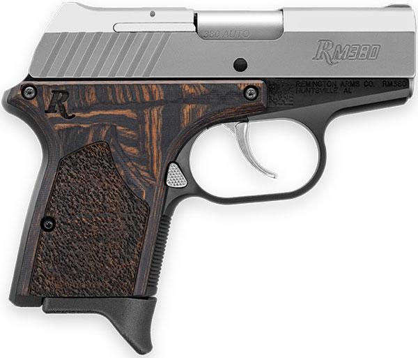 Remington RM 380 Executive. Fuente fotografía: Remington. Redacción Espacio Armas.