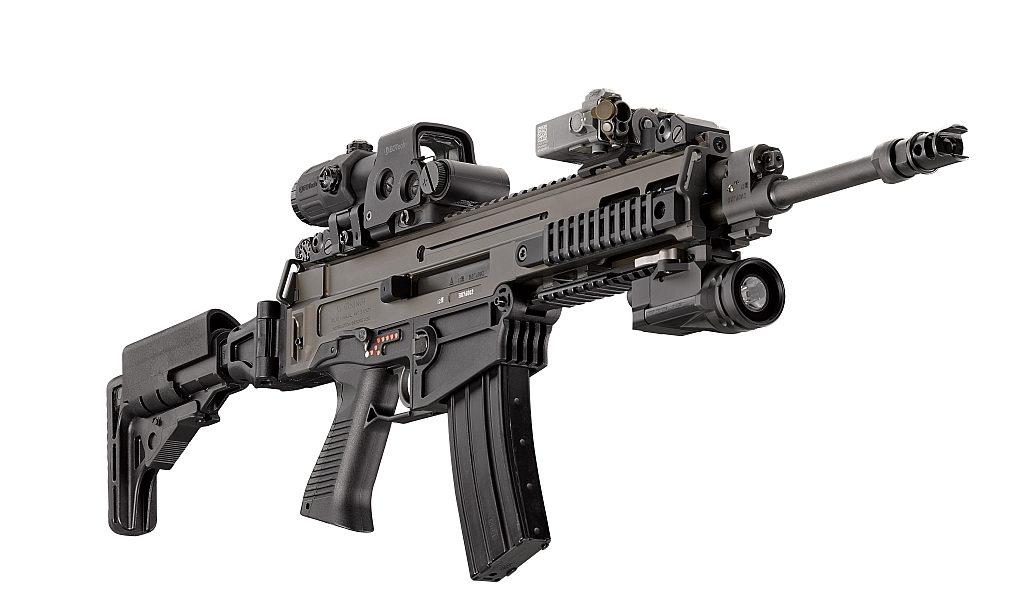 Rifle de guerra checo modelo CZ 805 BREN A1. Redacción Espacio Armas.