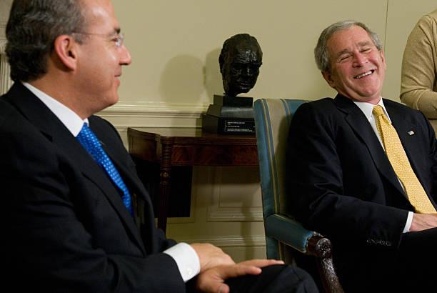 Conferencia de prensa conjunta con el presidente de México