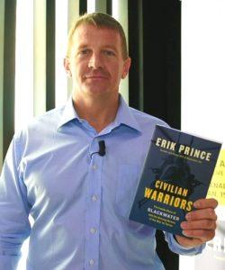 Erik Prince, director de Blackwater. Redacción Espacio Armas.