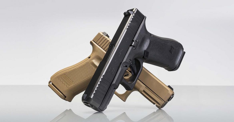 Pistolas Glock mod. 45. Redacción Espacio Armas.