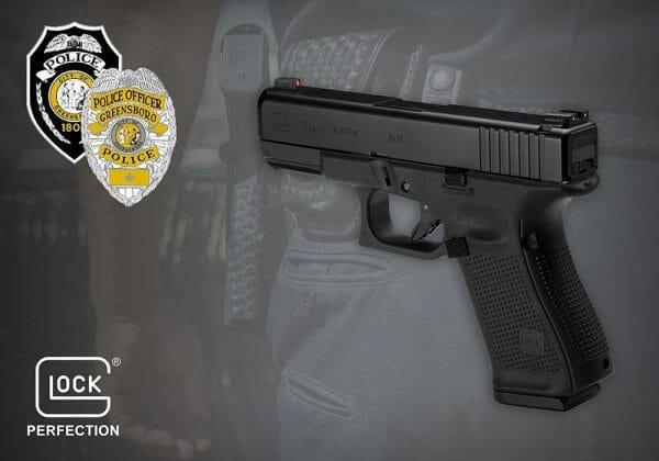 Glock 19 Gen 5, adquirida por el Departamento de Policia de Greensboro,EE.UU.