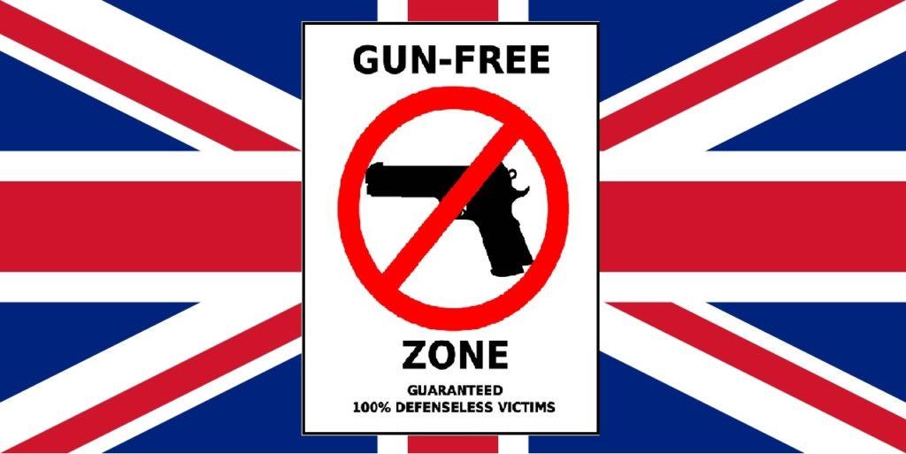 La ley de armas del 1997, prohíbe a los ciudadanos británicos la posesión y uso de las armas de fuego. Redacción Espacio Armas