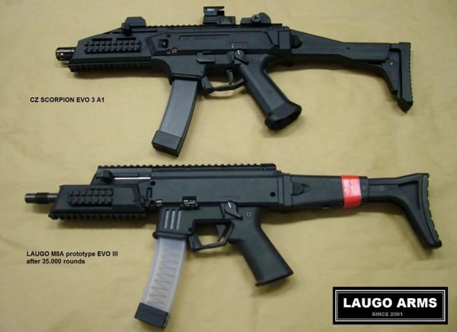 Laugo Arms ha desarrollado el diseño de las Evo Scorpio III. Redacción Espacio Armas.