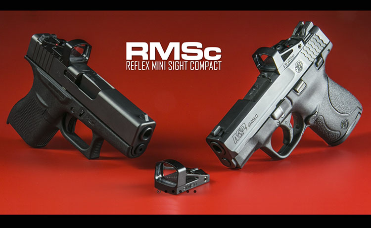 Shield Sights, sistema de punto rojo RMS-W