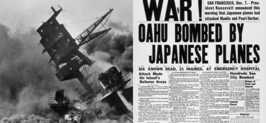 Ataque de Pearl Harbor, 7 diciembre 194. Historia militar