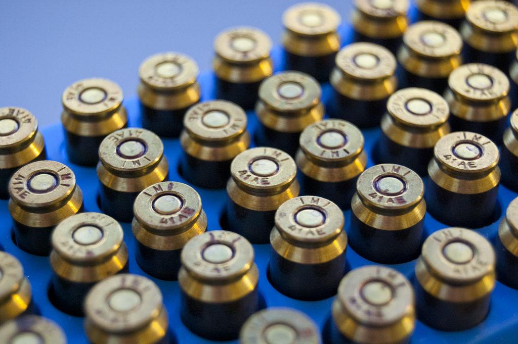 Cartucho calibre 41 Action Express