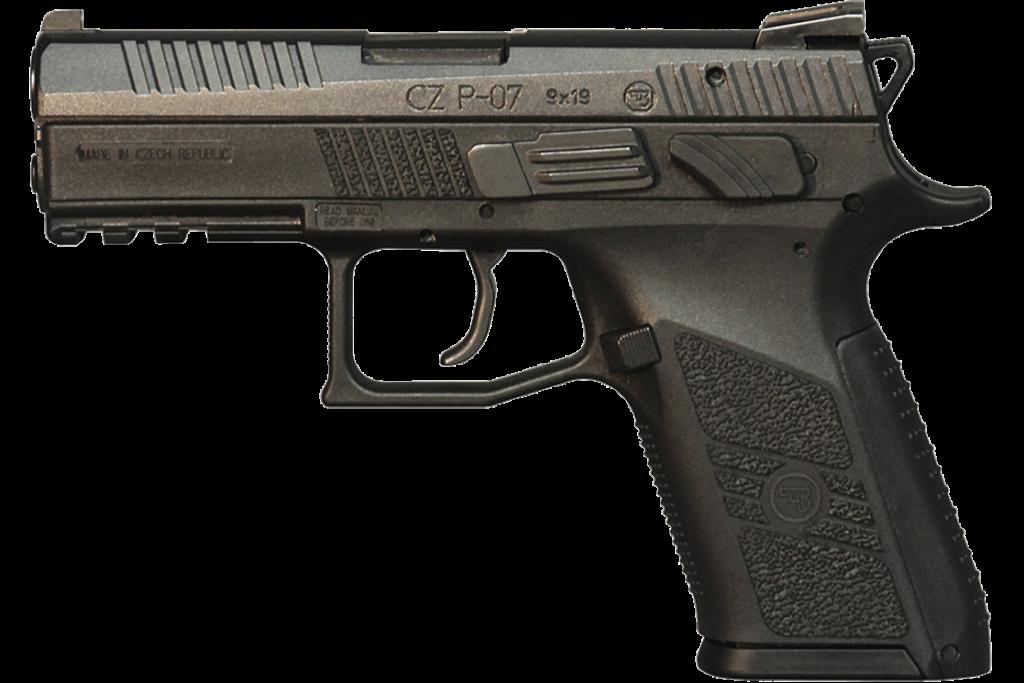 CZ P07 Cal. 9 mm. Fuente CZ USA. Redacción Espacio Armas.
