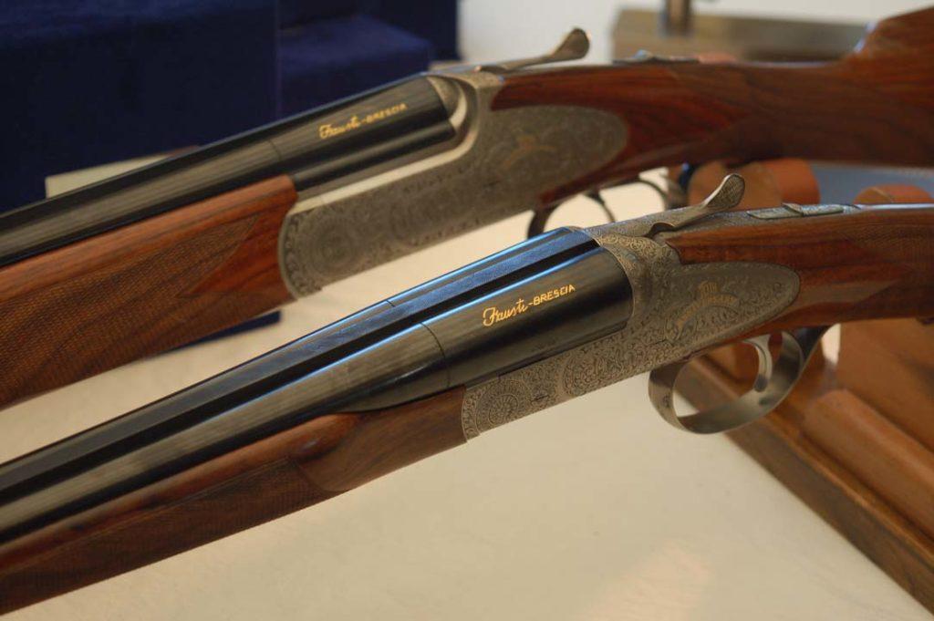 Dos modelos de escopeta Fausti. Redacción Espacio Armas.
