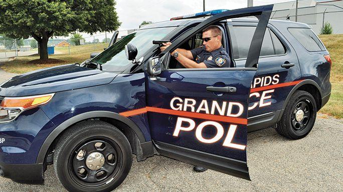 Policía de Grand Rapids en EE.UU. Redacción Espacio Armas.