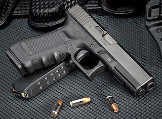 Glock 22 Gen. 4 Cal 40 S&W. Redacción Espacio Armas.