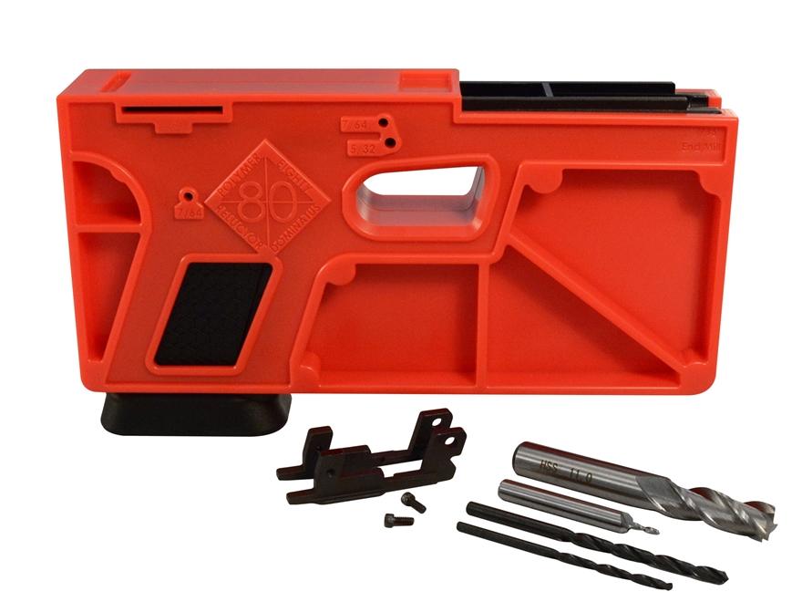 Kit de Polymer 80. Redacción Espacio Armas.