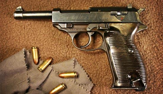 Pistola Walther P38 en Cal. 9 mm Parabellum. Redacción Espacio Armas.