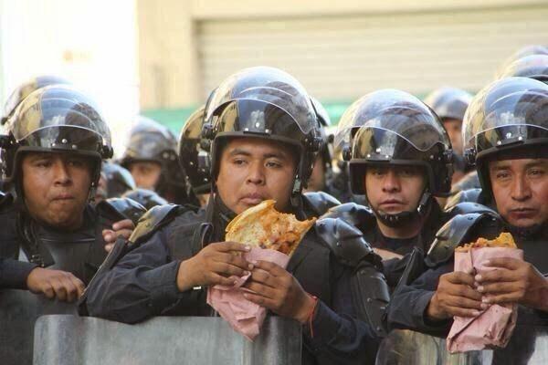 Los problemas de obesidad y sobrepeso de la Policía Mexicana. Espacio Armas