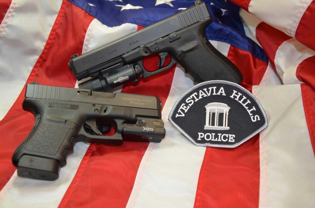 Policía de Vestavia Hills. en EE.UU. Redacción Espacio Armas.