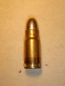 Cal. 7.65 X 21 mm Parabellum. Redacción Espacio Armas.