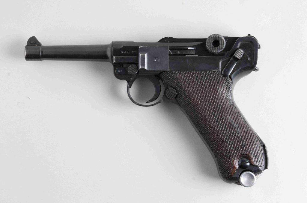 Walther P08 y munición 7,65. Redacción Espacio Armas.
