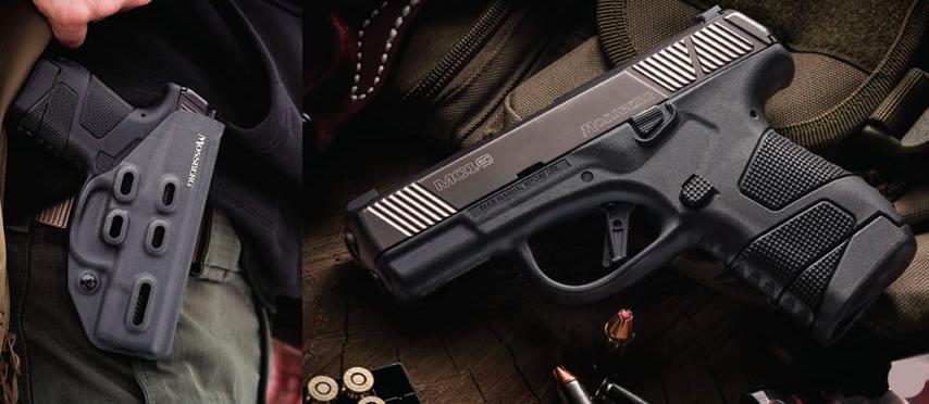 La pistola MC1sc de Mossberg. Redacción Espacio Armas.