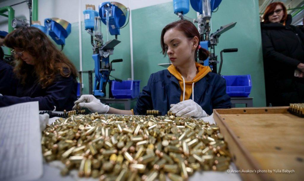 Municiones pistola Fort ucraniana, nueva línea