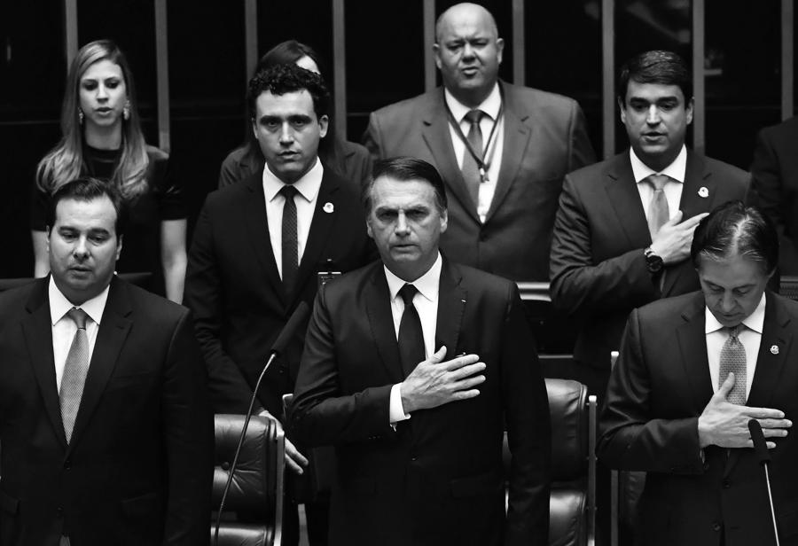 El Presidente de Brasil, J. Bolsonaro. Redacción Espacio Armas.
