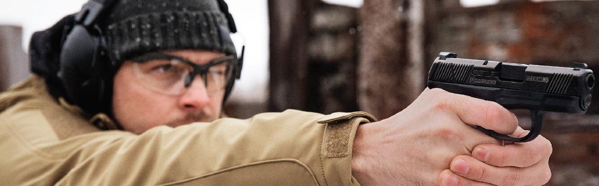 Pistola MSC1 de Mossberg, industria de armas en Connecticut (Estados Unidos)-