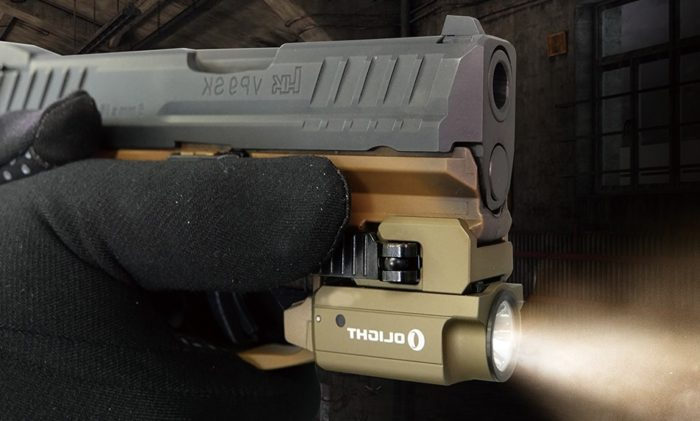 OLIGHT lanza una linterna para arma más compacta
