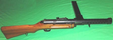 SIG Bergmann 1920 en cal. 7.65 Parabellum. Redacción Espacio Armas.